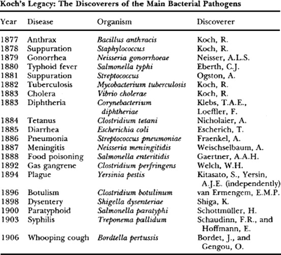 Robert Koch and the 'golden age' of bacteriology - ScienceDirect