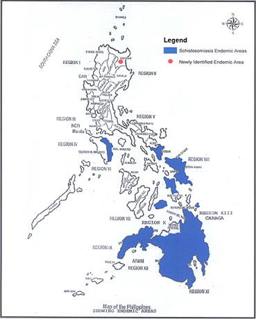 Bilharzia in the Philippines past present and future