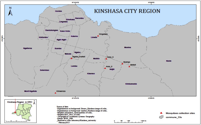 Mosquito-borne viruses circulating in Kinshasa, Democratic Republic on abidjan map, brazzaville map, dar es salaam, mogadishu map, timbuktu map, kigali map, cape town, africa map, nairobi map, cape town map, praia map, cairo map, yaounde map, congo river, freetown map, luanda map, leopoldville map, kuala lumpur map, maputo map, malabo map, congo map, addis ababa, kampala map, lagos map,