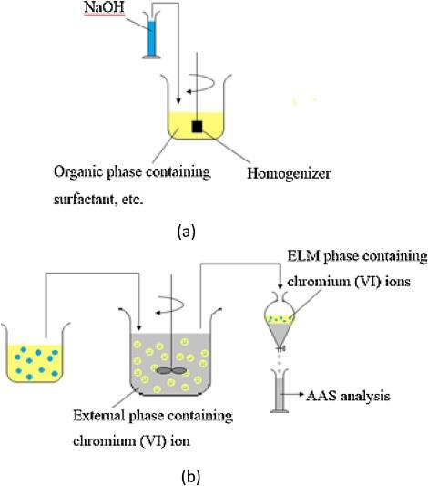 Development of stable green emulsion liquid membrane process