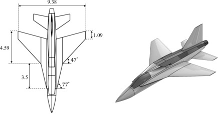 Integration Assessment Of Conceptual Design And Intake Aerodynamics Of A Non Conventional Air To Ground Fighter Aircraft Sciencedirect