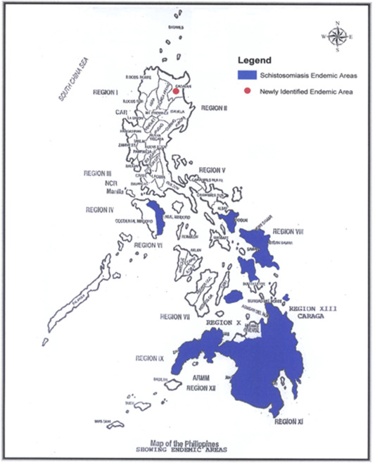 Schistosomiasis mass drug administration in the Philippines