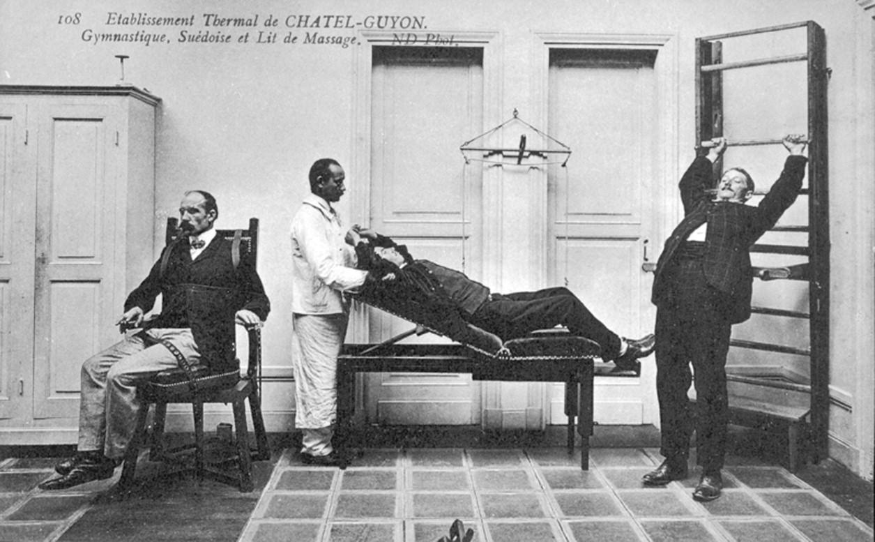 Historia del conocimiento y de la práctica de la kinesiterapia ...