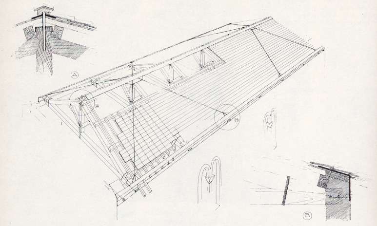 state of the art technology on conservation of ancient roofs with I Beam Box download full size image