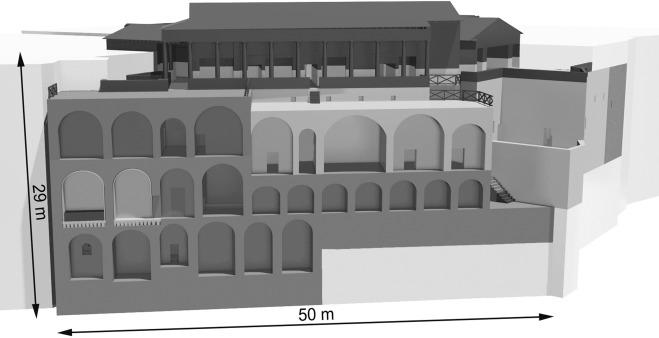 The Sarno Baths Pompeii Architecture Development And 3d