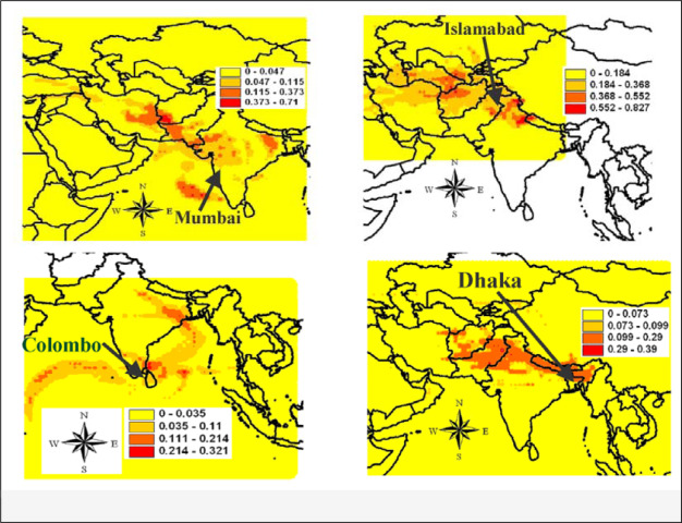 Air pollution by fine particulate matter in Bangladesh