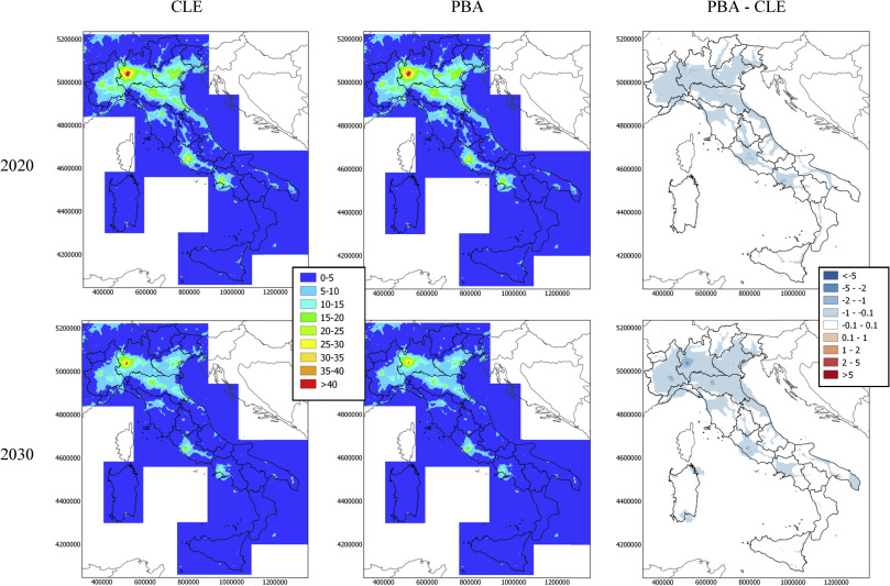 Calendario Serie B 2020 2020.Evaluation Of Mitigation Measures For Air Quality In Italy