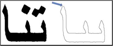 A new hybrid method for Arabic multi-font text segmentation