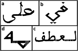 A new hybrid method for Arabic multi-font text segmentation, and a