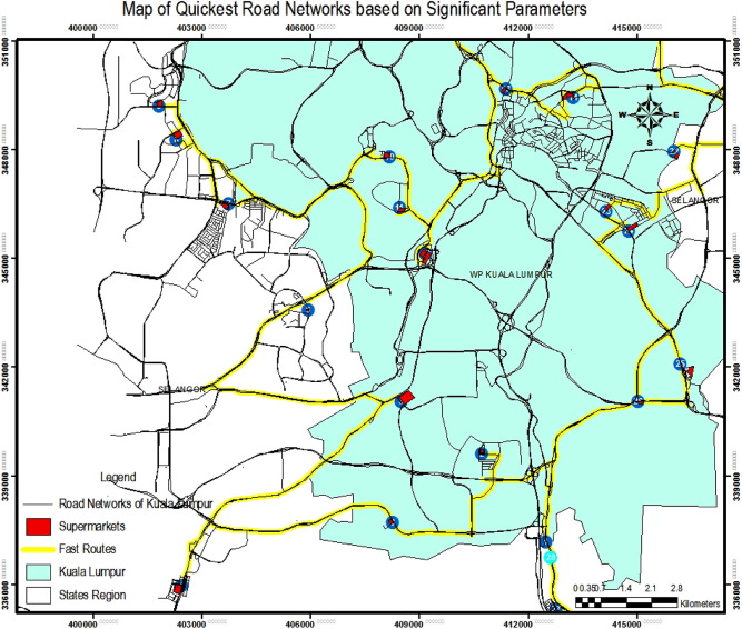 Geographic Information System (GIS) modeling approach to