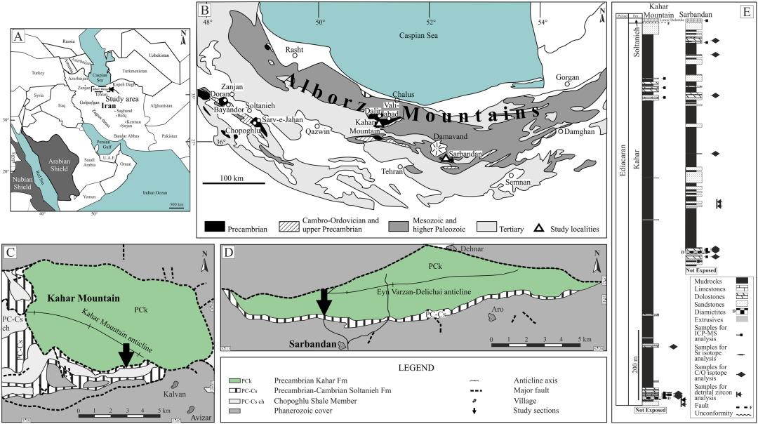 Evidence for ca 560 Ma Ediacaran glaciation in the Kahar