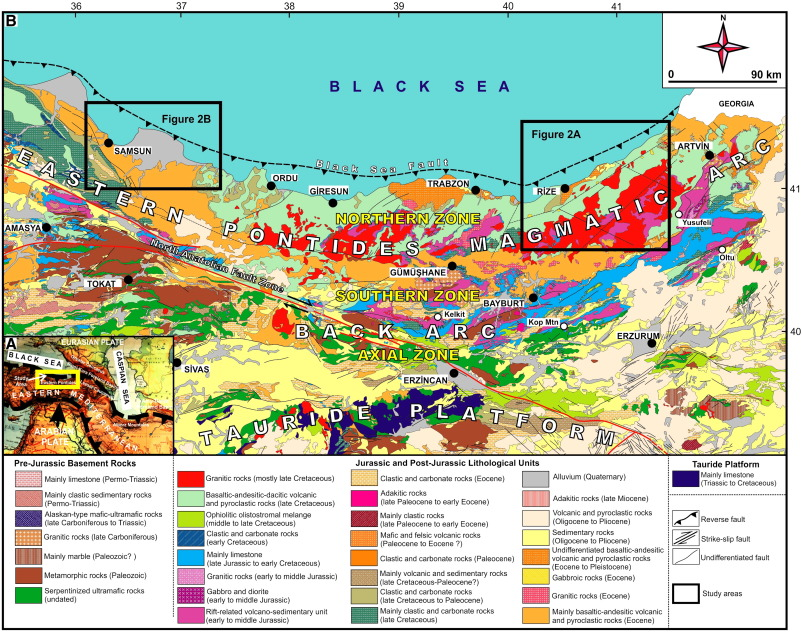 a35c2af463a2b4 Cenozoic forearc gabbros from the northern zone of the Eastern ...