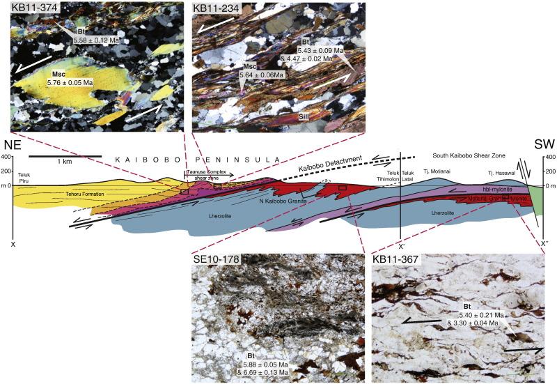 Tectonometamorphic evolution of Seram and Ambon, eastern