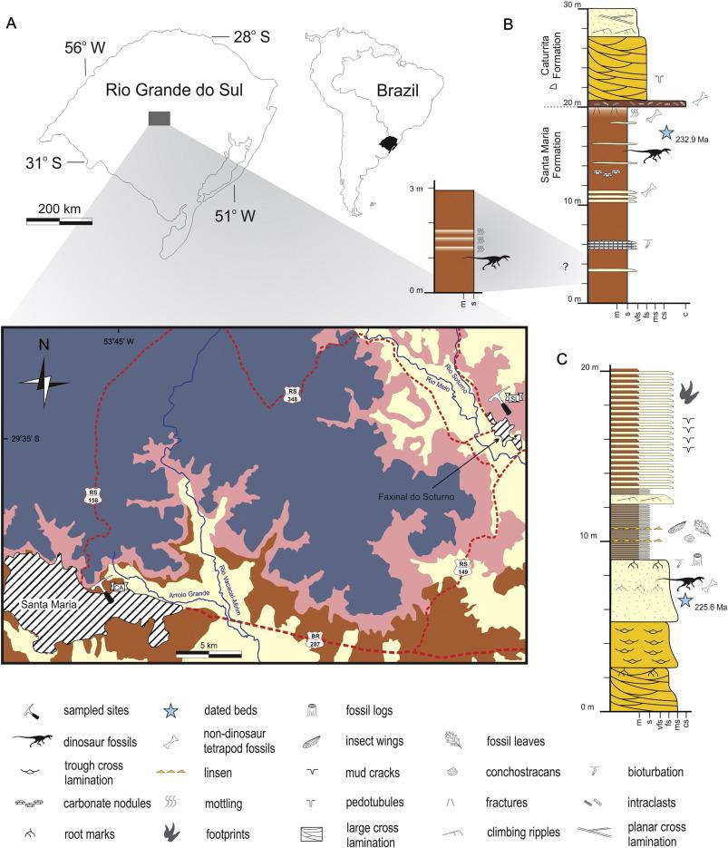 U-Pb age constraints on dinosaur rise from south Brazil - ScienceDirect