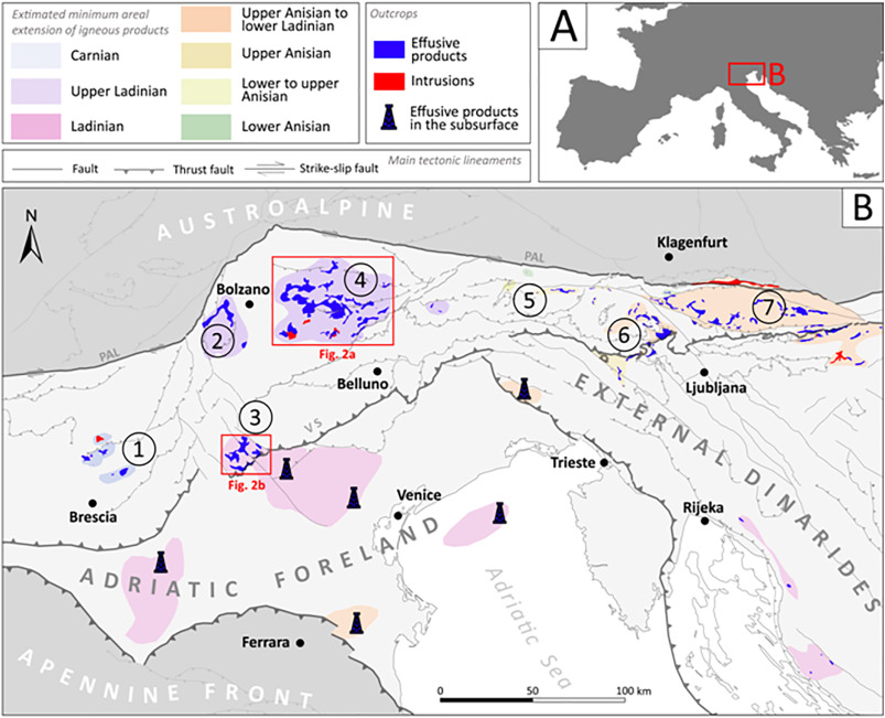 Origin Of Triassic Magmatism Of The Southern Alps Italy
