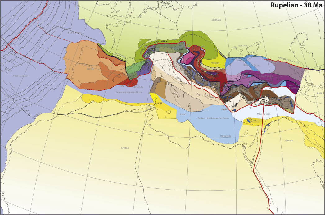 Orogenic Architecture Of The Mediterranean Region And