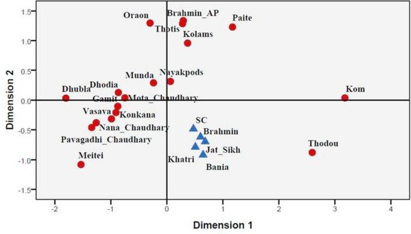 Genetic dissection of five ethnic groups from Punjab, North-West
