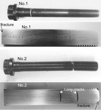 Failure analysis of diesel engine cylinder head bolts - ScienceDirect