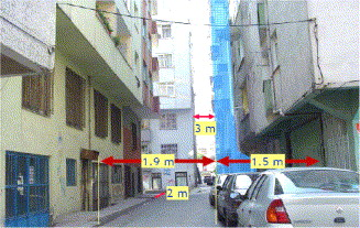 Earthquake failures of cantilever projections buildings