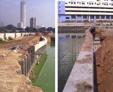 An Investigation On A Failed Double Wall Cofferdam During Construction Sciencedirect