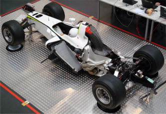 The U201cprimary Structureu201d Of A Formula 1 Car Consists Of Chassis, Engine And  Gearbox.