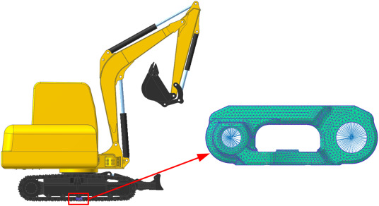 Fatigue life analysis of crawler chain link of excavator - ScienceDirect