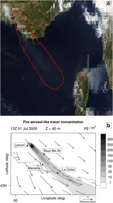 Wildfire And The Atmosphere Modelling The Chemical And Dynamic