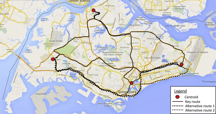 Developing Singapore Driving Cycle for passenger cars to estimate ...