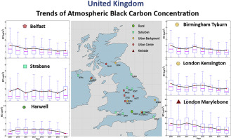 Trends of atmospheric black carbon concentration over the United ... c5cc4f9af