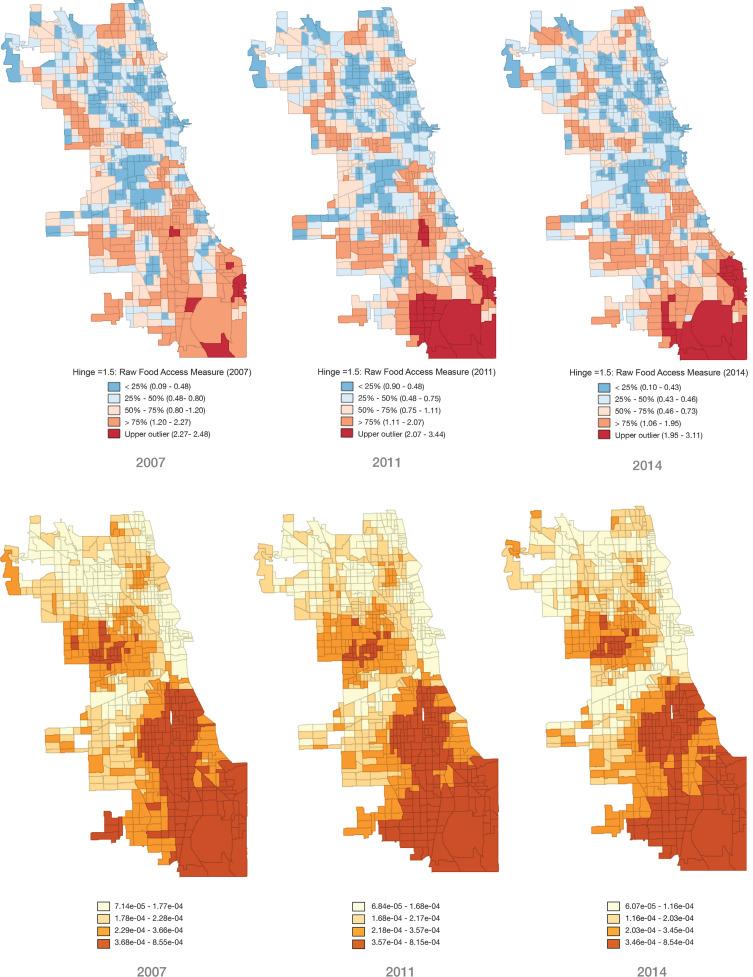 Urban Foodscape Trends Disparities In Healthy Food Access In