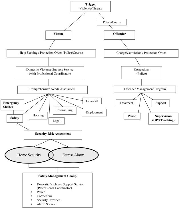 Situational prevention of domestic violence: A review of