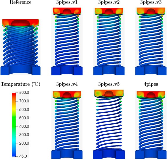 An OpenFOAM-based model for heat-exchanger design in the Cloud