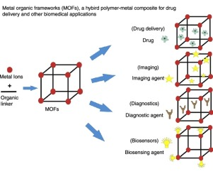 Nanoporous Metal Organic Frameworks As Hybrid Polymer Metal Composites For Drug Delivery And Biomedical Applications Sciencedirect