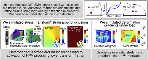 In situ, 3D characterization of the deformation mechanics of