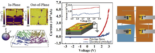 Robust polarization switching in self-assembled BiFeO3