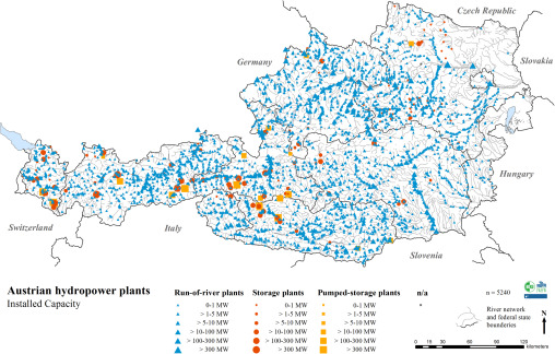 A Review Of Hydropower In Austria Past Present And Future - Austria climate map