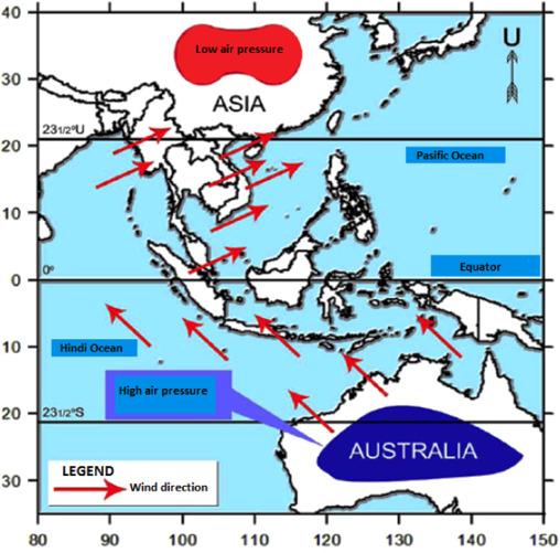 Modeling the wind direction behaviors during the monsoon ... on holland map, iran map, french polynesia map, ukraine map, kota kinabalu map, georgia map, armenia map, sarawak map, world map, singapore on map, selangor map, japan map, china map, yemen map, united kingdom map, pacific islands map, chile map, europe map, phillipines map,
