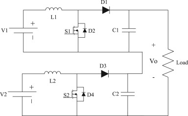 Multi-input DC/DC converters in connection with distributed