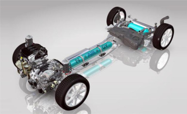 A review of compressed-air hybrid technology in vehicle