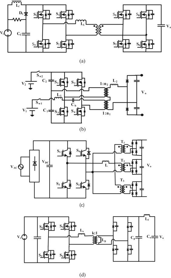 Recent progress and development on power DC-DC converter topology