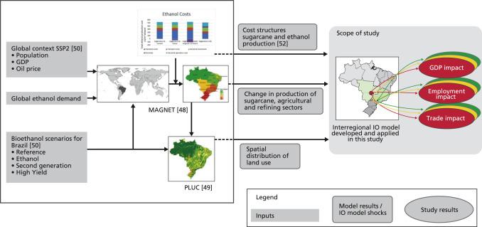 Interregional assessment of socio-economic effects of sugarcane