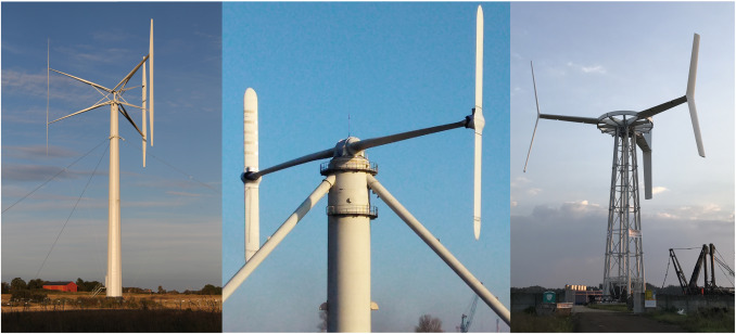 A historical review of vertical axis wind turbines rated 100