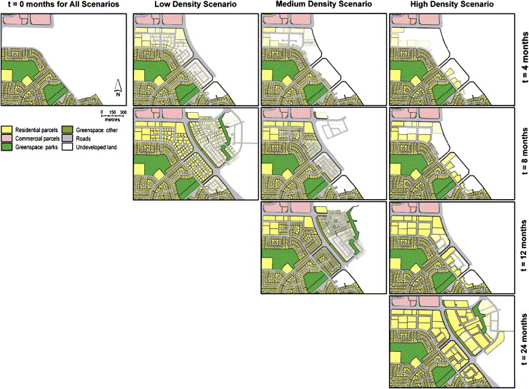 iCity: A GIS–CA modelling tool for urban planning and