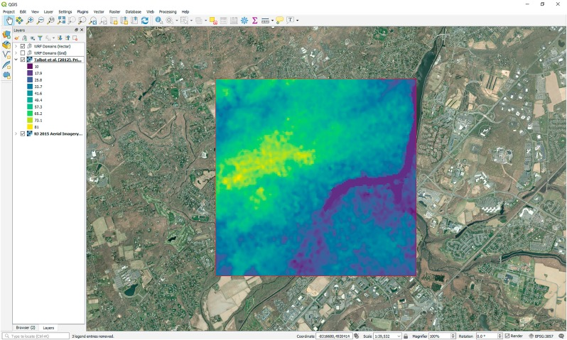 Open source QGIS toolkit for the Advanced Research WRF modelling