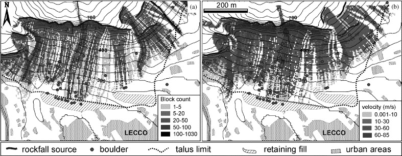 High resolution three-dimensional numerical modelling of rockfalls ...