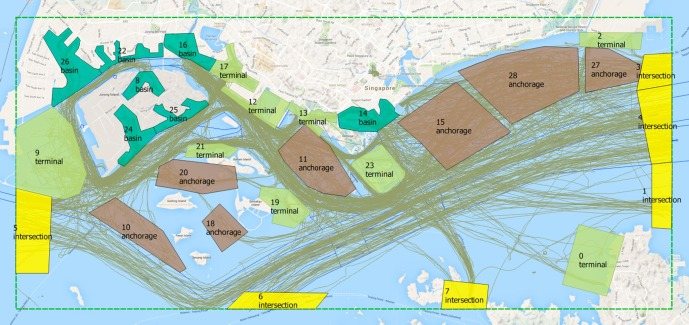 Ship Traffic Map.Big Ais Data Based Spatial Temporal Analyses Of Ship Traffic In