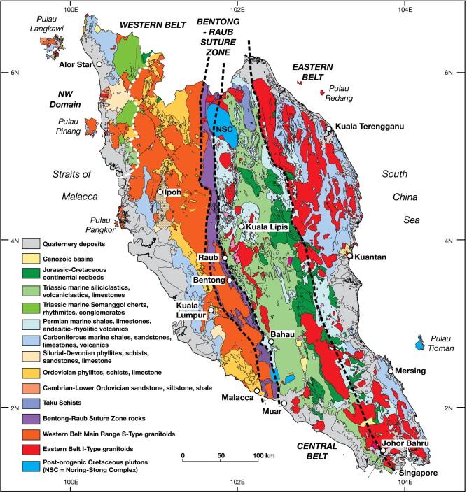 Malay Peninsula Map