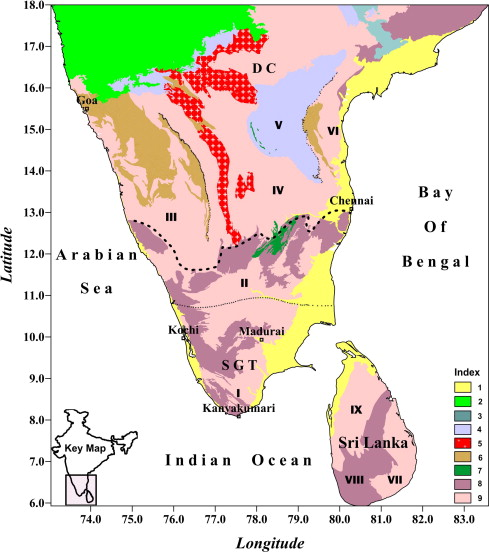 3D Lithosphere density structure of southern Indian shield