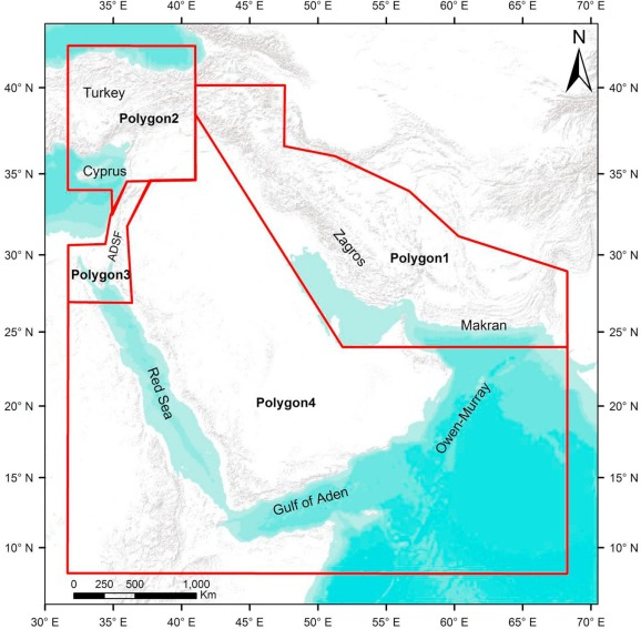 Compiling an earthquake catalogue for the Arabian Plate, Western ...