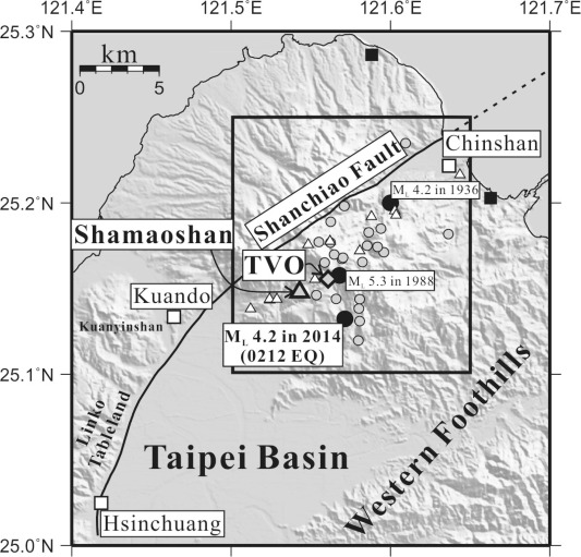 Geological implications of the 0212 earthquake in 2014 at the Tatun